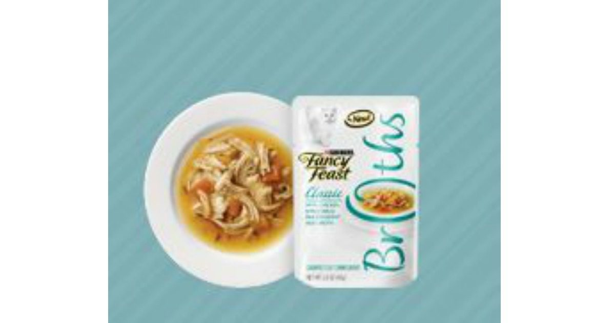 FREE Fancy Feast Broths with Chicken Cat Food Sample! Archives ...