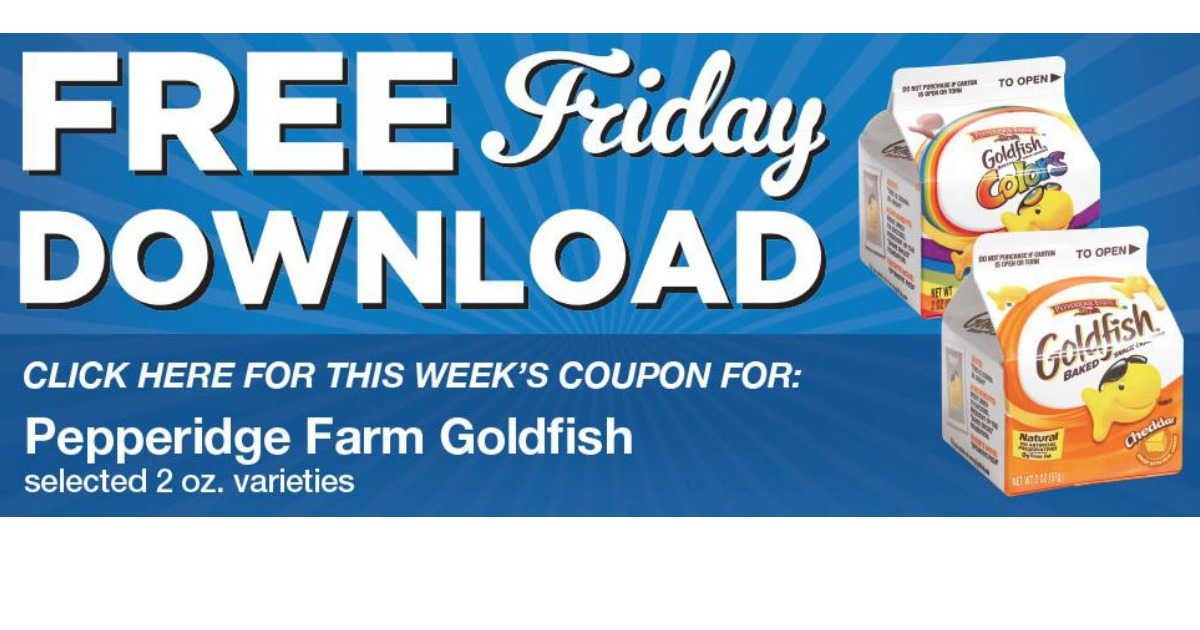 photo about Goldfish Printable Coupons titled Goldfish coupon printable / Mma warehouse coupon codes