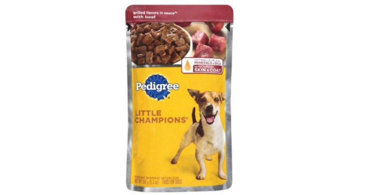 2 Free Pouches Of Pedigree Wet Dog Food Archives Mwfreebies