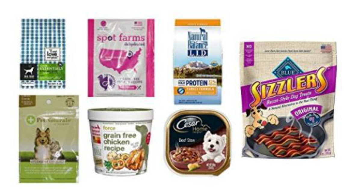 Natural Dog Food Samples