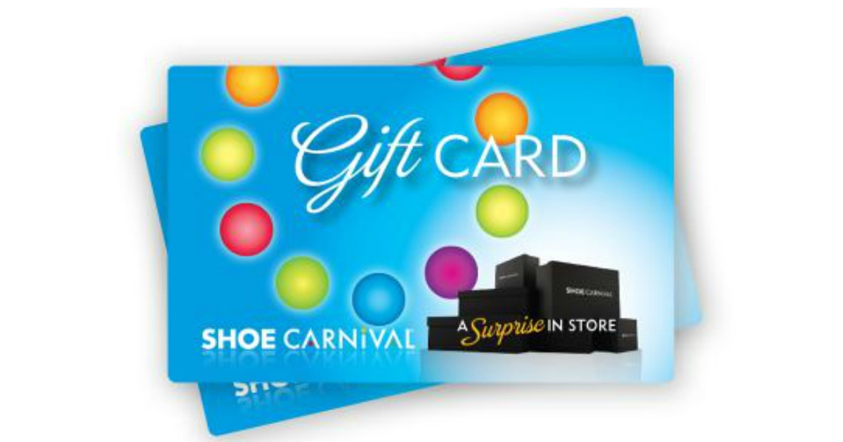 Going Live Around 2:30pm CST! Shoe Carnival Gift Cards are up for ...