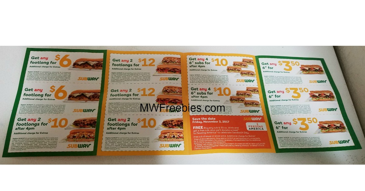 Get coupons by mail for free