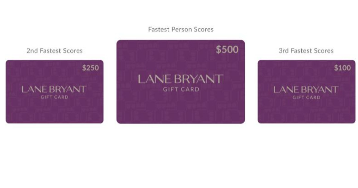 Lane Bryant Gift Cards are up for grabs! - MWFreebies